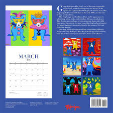 design wall calendar 2015 blue dog 2015 wall calendar george rodrigue 0676728028215 amazon