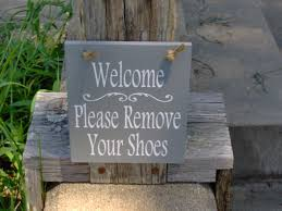 Family Wood Sign Home Decor Welcome Please Remove Shoes Sign Wood Sign Decor Vinyl Home