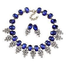 collar necklace beads images Best lady new maxi rhinestone bib collier femme beads collar jpg
