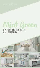 Green Kitchen Design Mint Green Kitchen Accessories Kitchen Gadget Box