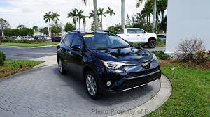toyota cars rav4 2017 used toyota rav4 limited fwd at royal palm toyota serving