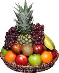 Fruit Basket Gifts Basket Express Gifts Candles Chocolates And Cheese In