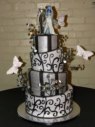 Halloween Themed Wedding Decor by 107 Best Wedding Cakes Images On Pinterest Halloween Cakes