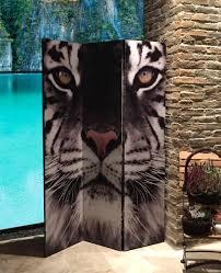 raumteiler 150 cm hoch grasekamp paravent raumteiler trennwand 3tlg tiger jetzt bestellen