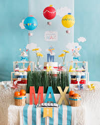 birthday themes for boys sweet whimsical hot air balloon birthday korean dol