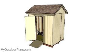 Free Plans How To Build A Wooden Shed by Free 6x8 Shed Plans Myoutdoorplans Free Woodworking Plans And