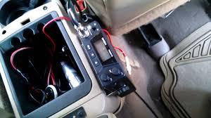 Jeep Wj Grand Cherokee Cb Radio Youtube