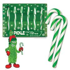 pickle candy canes archie mcphee co