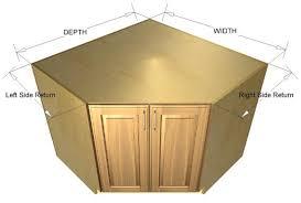 corner kitchen sink base cabinet dimensions 45 degree base sink cabinet