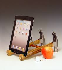 Cool Desk Accessories For Guys Ipad Stand For A Hardware Store Or Men U0027s Shop Handmade From