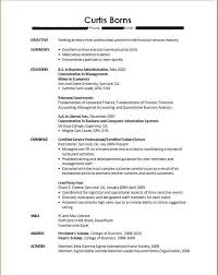 Sample Resumes For College by No Experience Resume Job Resume Examples No Experience Job Resume