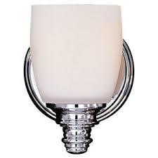 Murray Feiss Vanity Lighting Fixtures Feiss Bristol Chrome Vanity Light Vs6701 Ch The Home Depot