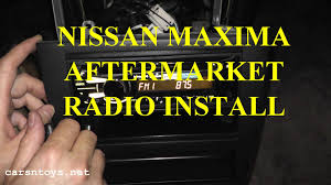 2016 nissan maxima youtube nissan maxima aftermarket radio install with bluetooth hd youtube