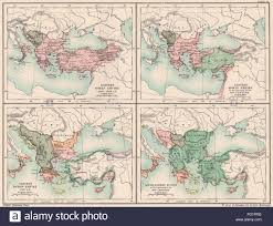 Map Of Southeastern Europe by Eastern Roman Byzantine Empire 1040 1064 1100 1355 Se Europe
