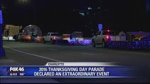 novant health thanksgiving day parade closures story wjzy