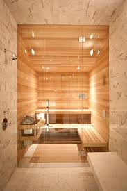 sauna deco a bit of luxury 35 stylish steam rooms for homes digsdigs