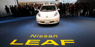 nissan finance early termination nissan u0027s overhauled leaf electric car lands tonight axios
