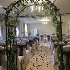 wedding arches uk wedding arch with lights flowers everything covered