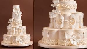 wedding cake tiers petal shaped wedding cakes cake magazine