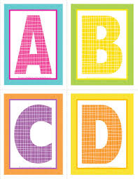 coloring pages printable best simple colored letters to print
