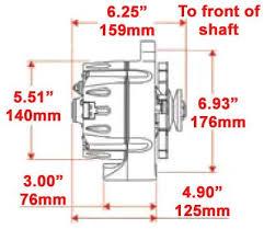amazon com new powermaster polished alternator serpentine pulley