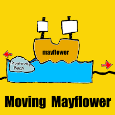 how to make a moving mayflower for thanksgiving crafts