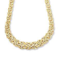 mens byzantine necklace images Jared byzantine necklace 14k yellow gold 17 inch length jpg