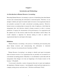 dissertation on human resource accounting in airlines industry in ind u2026