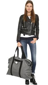 day birger day birger et mikkelsen day gweneth weekend bag kohl in gray lyst