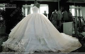 wedding dresses fluffy luxury amazing large multilayer fluffy tulle ruffles beaded