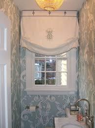 Roman Shades Styles - roman shade styles powder room richmond with traditional bathroom