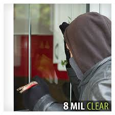 amazon com bdf s8mc window film security and safety clear 8 mil