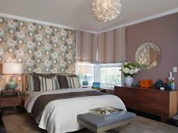 bedroom design accent wall murals textured wallpaper accent wall