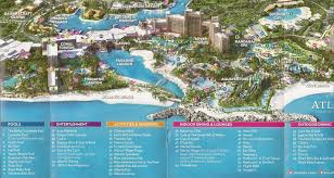 Atlantis Bahamas by Paradise Island Bahamas Map White