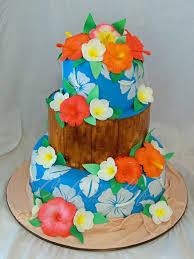 hawaiian themed wedding cakes hawaiian themed wedding cake 09 2011 top two tiers were r flickr