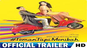 film indo romantis youtube teman tapi menikah official trailer 2018 film indonesia hd youtube