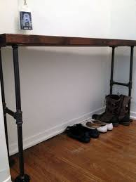 entryway table and bench easy modern black iron pipe bench entryway table entryway tables