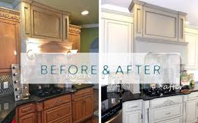 Painted Kitchen Cabinets Before And After by Bella Tucker Decorative Finishes Cabinet Painting Professionals