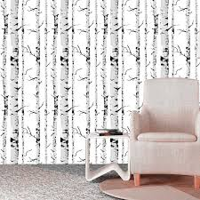 self adhesive removable wallpaper birch tree self adhesive removable wallpaper birch tree trunk