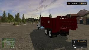 kenworth w900a kenworth w900a manure spreader v1 ls17 farming simulator 2017
