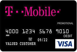 pre paid debit card page