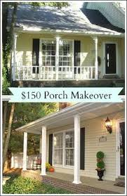 since i removed the railings on our porch earlier this summer the