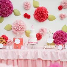 Homemade Pom Pom Decorations Online Cheap Diy Pom Multicolour 10cm Tissue Paper Pom Poms Flower