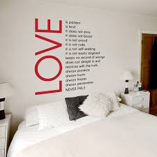 love is patient wall decal interior design ideas for home design