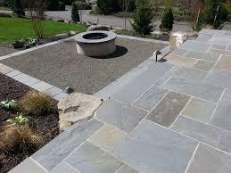 Blue Stone Patios Sammamish Gas Fire Pit And Bluestone Patio Sublime Garden Design