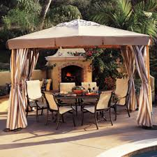 Mainstays Gazebo Replacement Parts by Backyard Creations Patio Furniture Replacement Parts Home