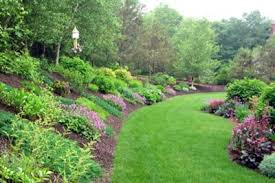 Backyard Hill Landscaping Ideas Backyard Garden Designs On Landscaping Ideas For Hills In Backyard