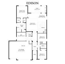 Car Floor Plan Edison Cape Coral Signature Cape Coral Florida D R Horton