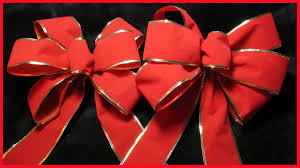 How To Make A Decorative - how to make a decorative christmas bow no 1 with subtitles youtube