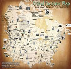 the native american tribe that shared the first thanksgiving feast the map of native american tribes you u0027ve never seen before